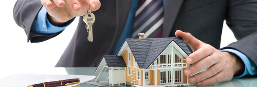 une agence immobiliere